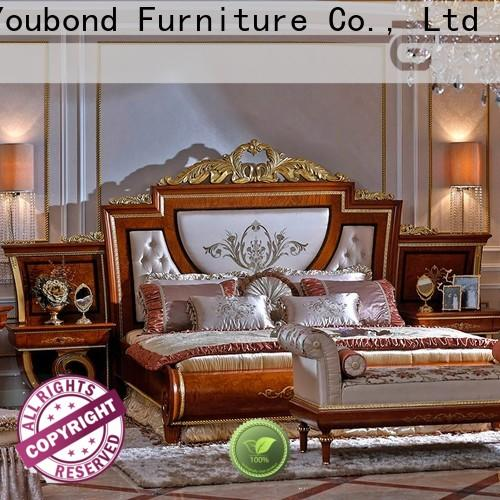 veneer ash bedroom furniture with chinese element for decoration