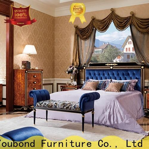 Senbetter top new classic bedroom set with chinese element for royal home and villa