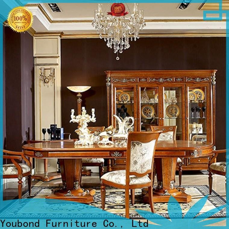 Senbetter black wood dining table for business for collection