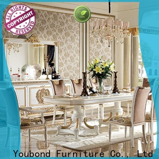 latest classic dining furniture with buffet for villa