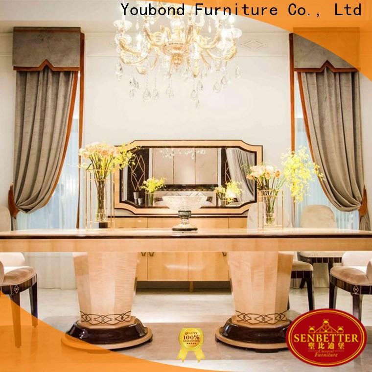 Senbetter italian dining room with table for villa