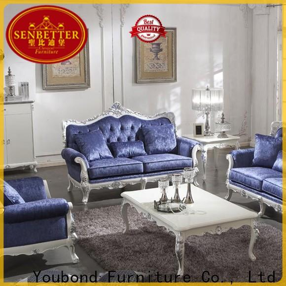Senbetter traditional sofas living room furniture supply for hotel