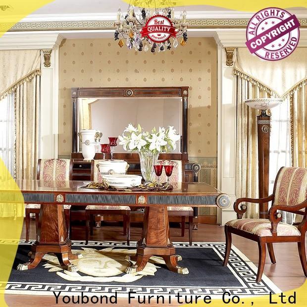 Senbetter natural wood dining table manufacturers for villa
