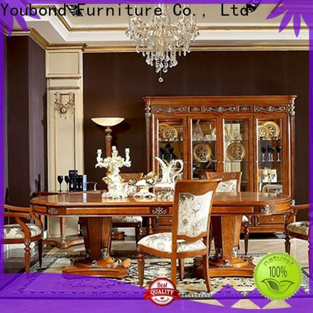 Senbetter high end dining room furniture with wooden table for hotel