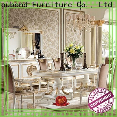 wholesale white dining room furniture factory for villa