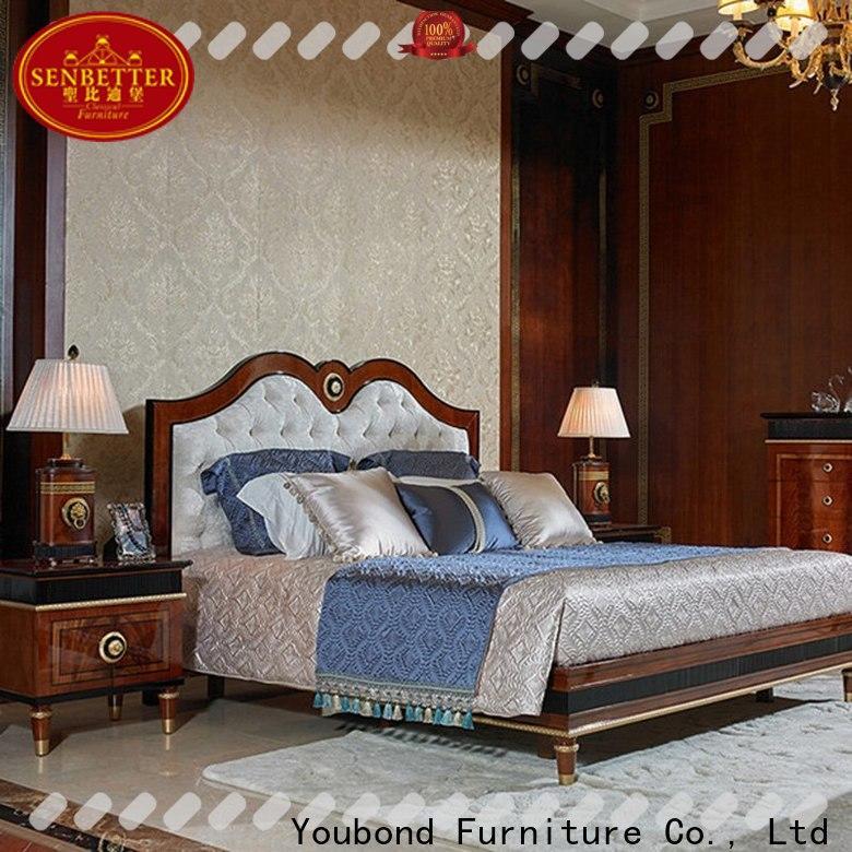 Senbetter top complete bedroom sets with white rim for sale