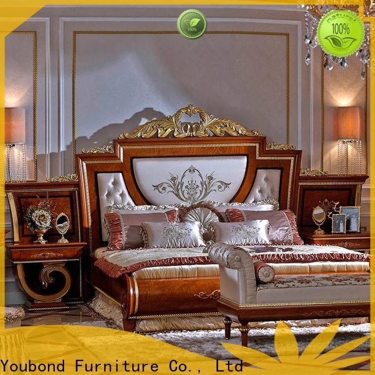Senbetter black white painted bedroom furniture for decoration