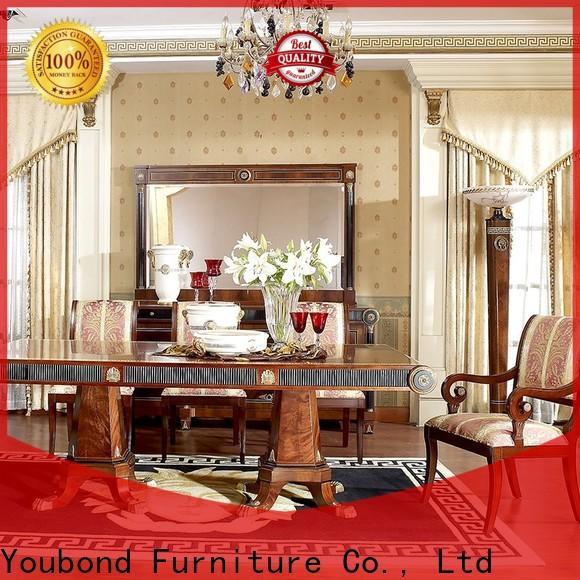 Senbetter gold dining room set suppliers for sale