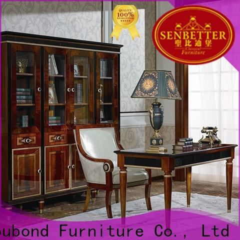 Senbetter french classic traditional furniture with office chair for hotel
