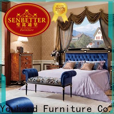 Senbetter mahogany leather bedroom furniture manufacturers for decoration