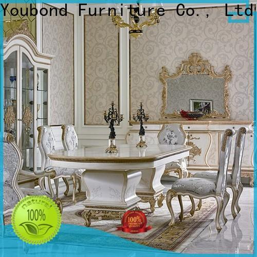 elegant italian style dining set manufacturer for sale