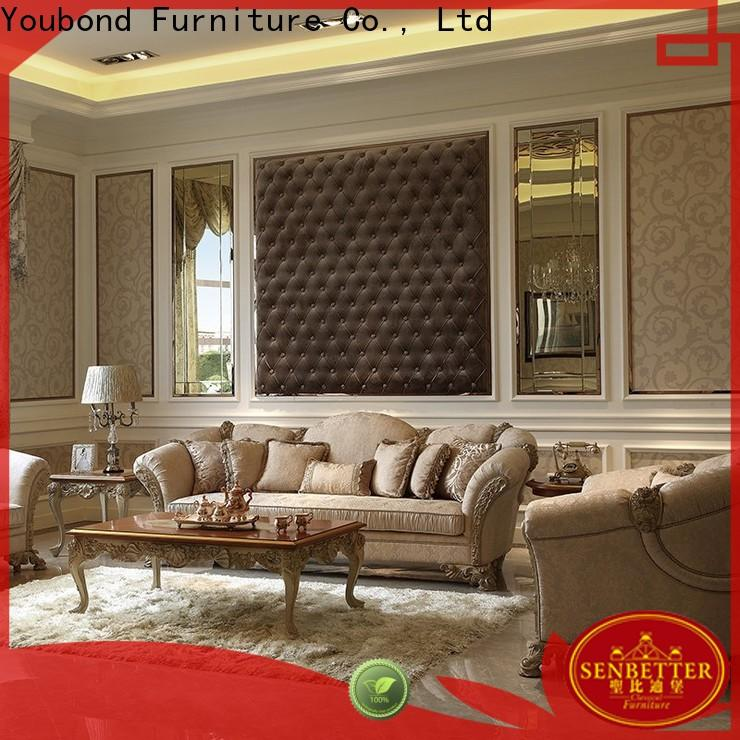 wooden with fabric or leather sofa for home