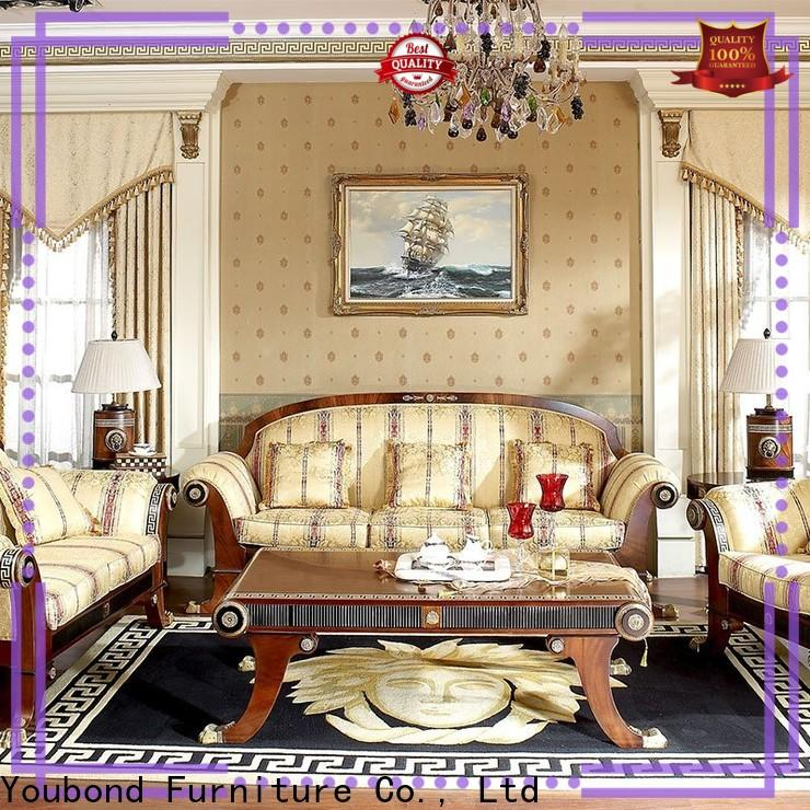 luxury wood living room furniture factory for home