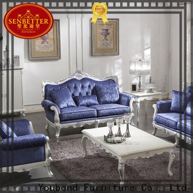 Senbetter sofa set for small living room with solid wood chair for home
