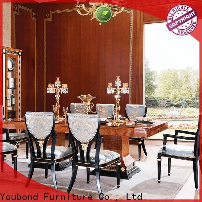 Senbetter wholesale french country dining room sets with table for home