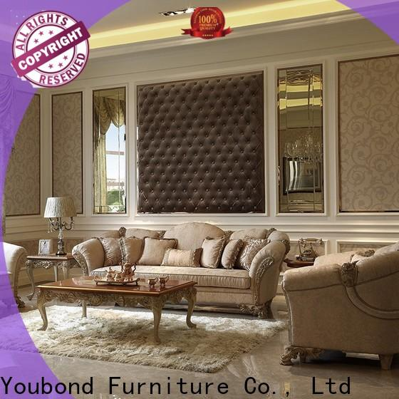 luxury traditional sofas living room furniture with chinese element for villa
