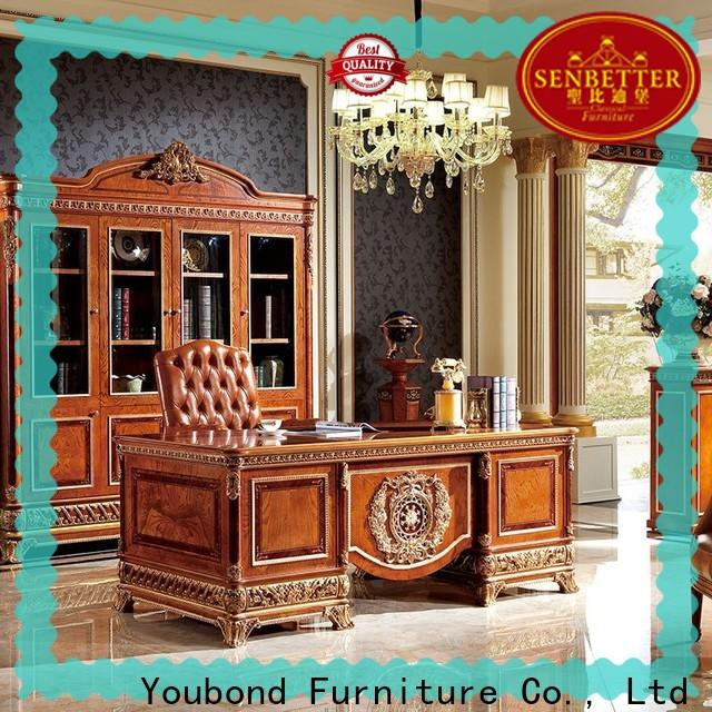 Senbetter office computer furniture with office writing desk for hotel