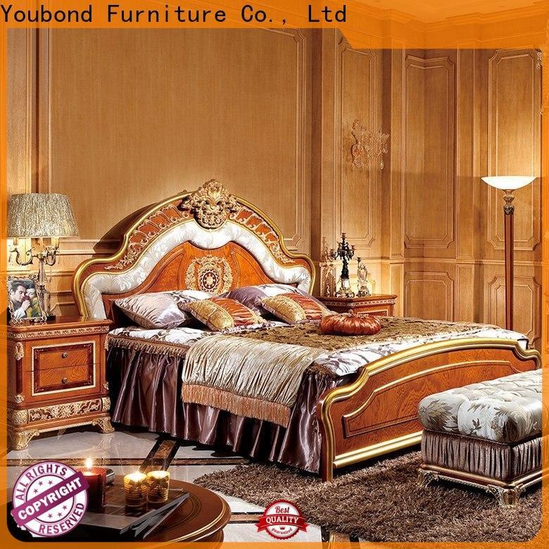 Senbetter antique white bedroom furniture supply for royal home and villa