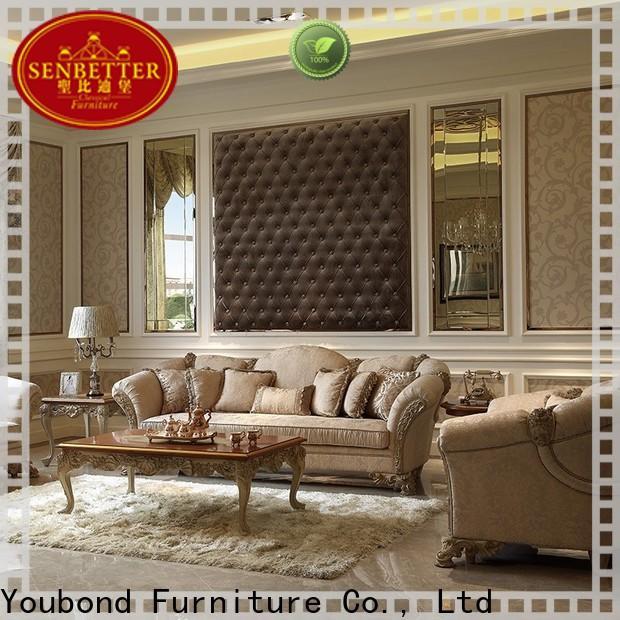 new sitting room furniture sets supply for villa