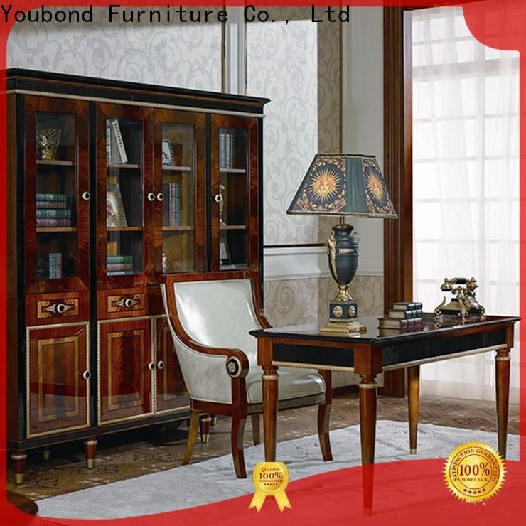 Senbetter expensive office furniture with bookcase for hotel