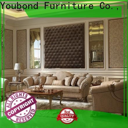 Senbetter living room sofa and chair sets with solid wood chair for living room