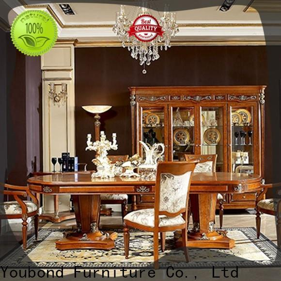 Senbetter modern classic dining room furniture with chairs for collection