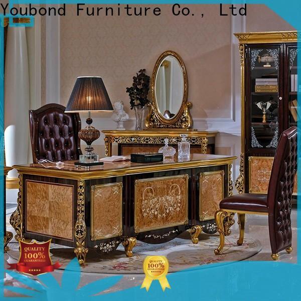 Senbetter classic lane office furniture with bookcase for villa