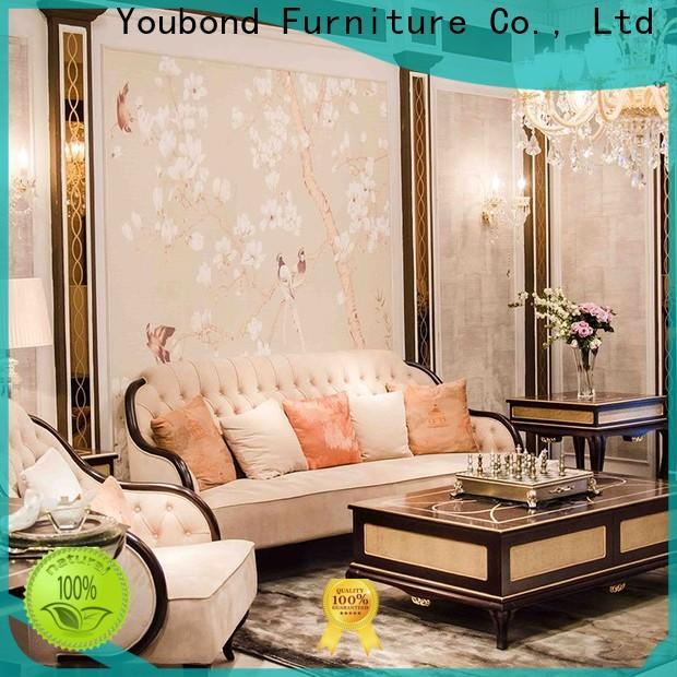 Senbetter classical living room leather sofa set supply for home