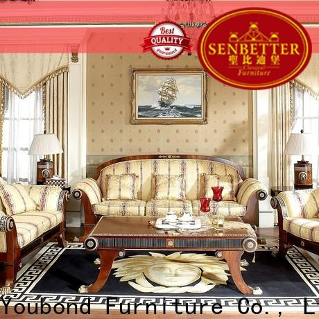 wholesale living room couches for sale with flower carving for villa