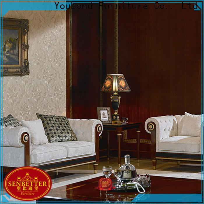 Senbetter front room sets with brass accessory for home