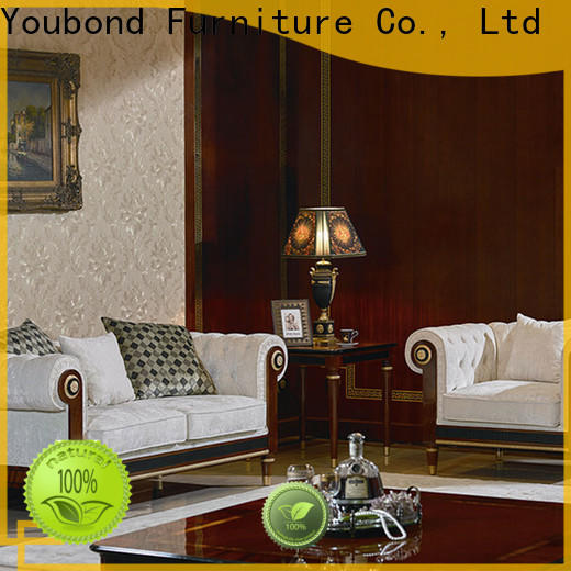 italian living furniture set manufacturers for villa