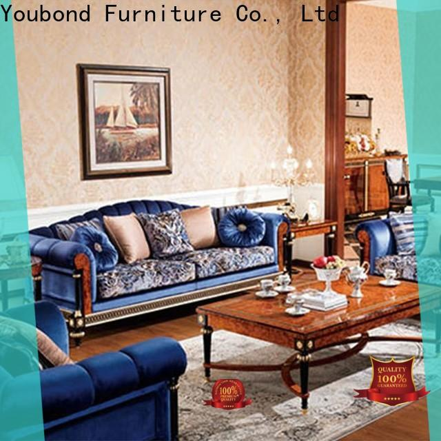 wooden white front room furniture suppliers for villa