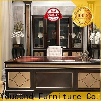 gold executive office furniture supply for villa