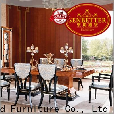 Senbetter top solid oak dining room sets company for hotel