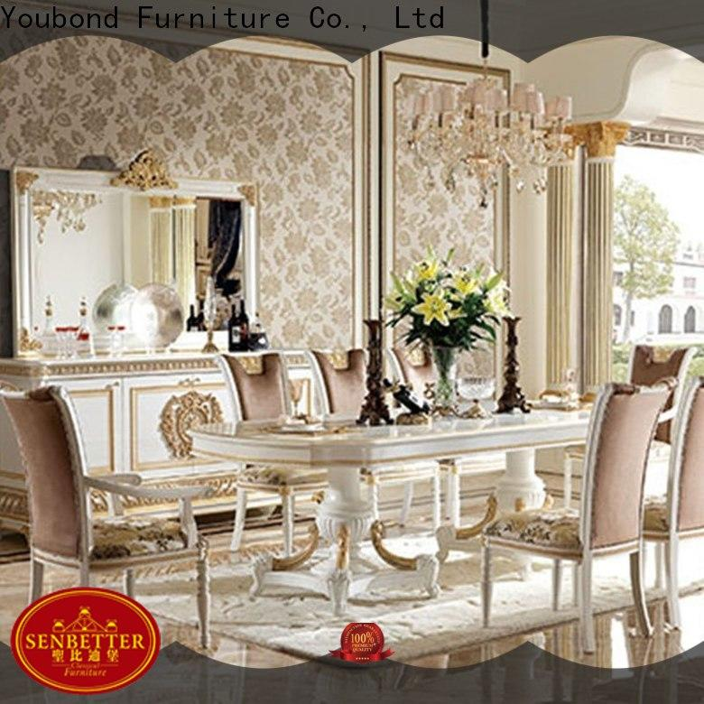 senbetter classic modern dining table manufacturer for villa