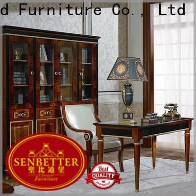 Senbetter louis value office furniture with bookcase for villa
