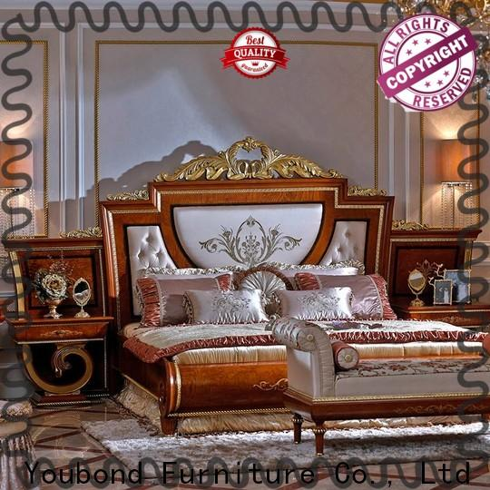 Senbetter black bedroom suite furniture suppliers for royal home and villa