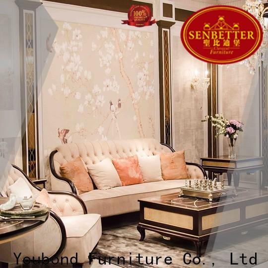 Senbetter custom red living room set manufacturers for villa