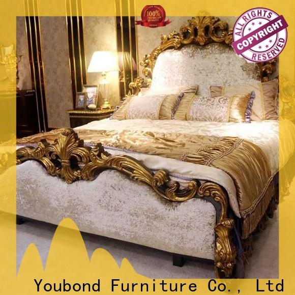 luxury classic white furniture with shiny brass accessory decoration for sale