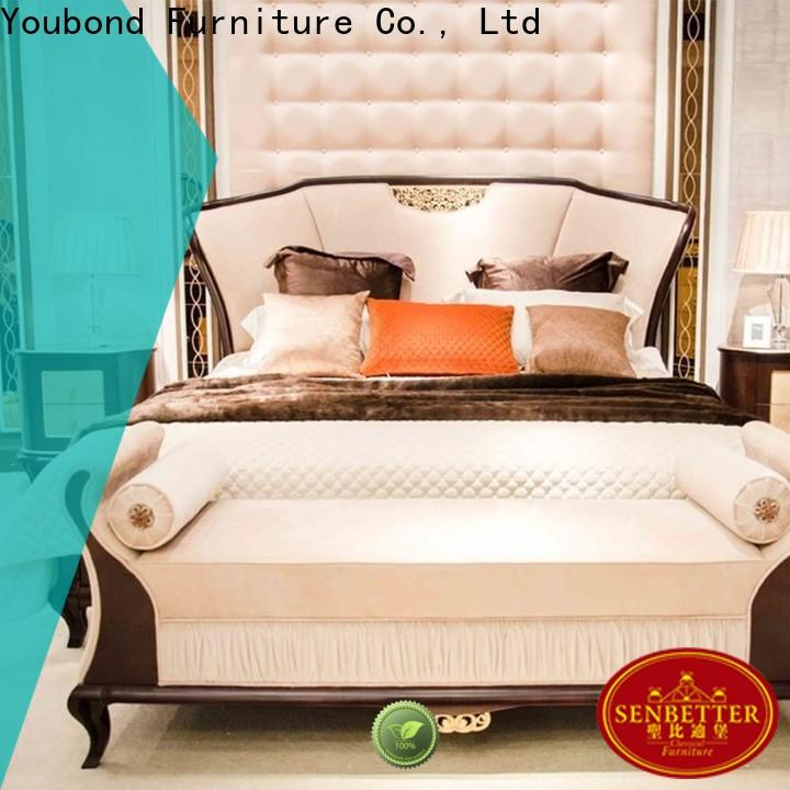 Senbetter traditional king size bedroom sets for business for royal home and villa