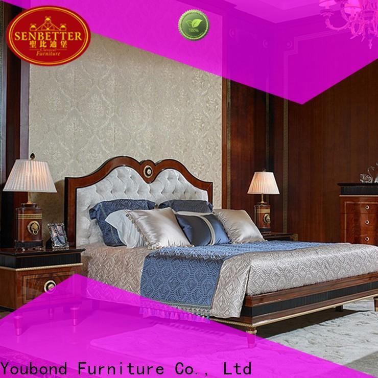 Senbetter wood bedroom furniture sets for decoration