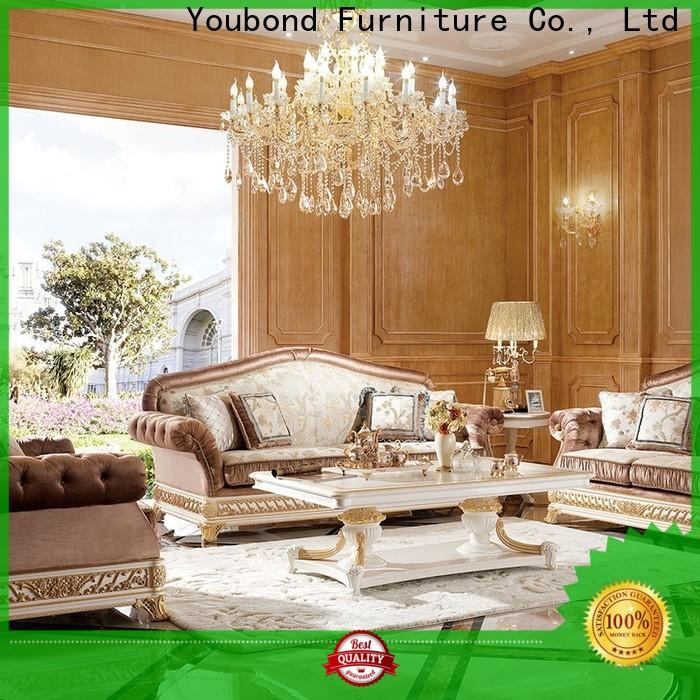 Senbetter gloss high quality living room furniture with long dining table for home