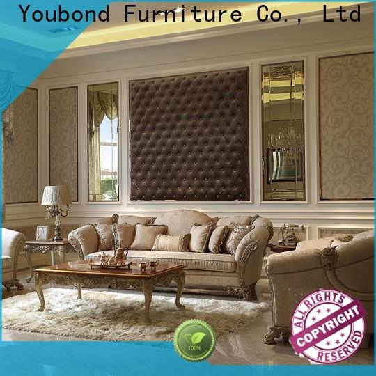 Senbetter classic elegant living room furniture sets with long dining table for hotel