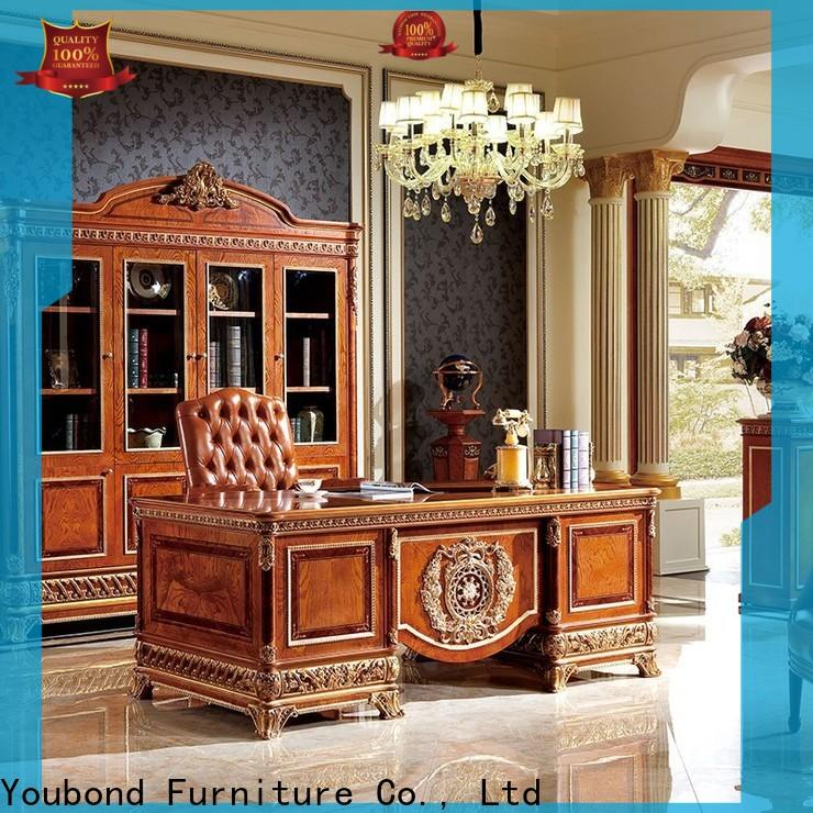 wooden home and office furniture with bookcase for hotel