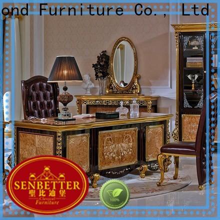 Senbetter real wood office desk manufacturers for hotel