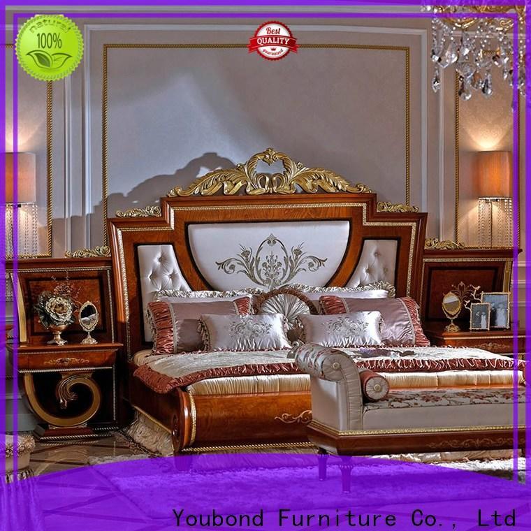 Senbetter mahogany italian classic bedroom set for business for decoration