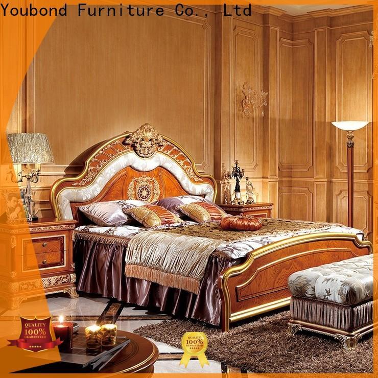 Senbetter custom traditional bed design company for royal home and villa