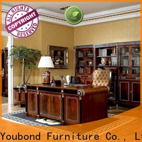 classic home office furniture packages with office chair for hotel