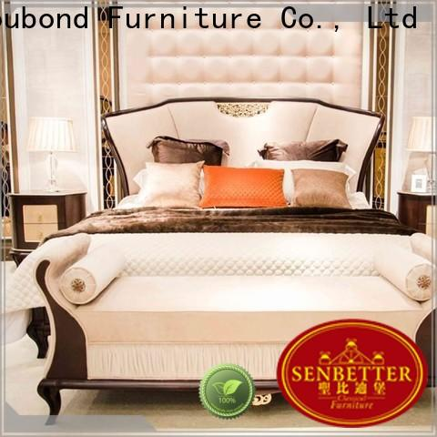 classical wood bedroom sets for business for sale