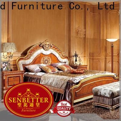Senbetter european ivory bedroom furniture factory for royal home and villa